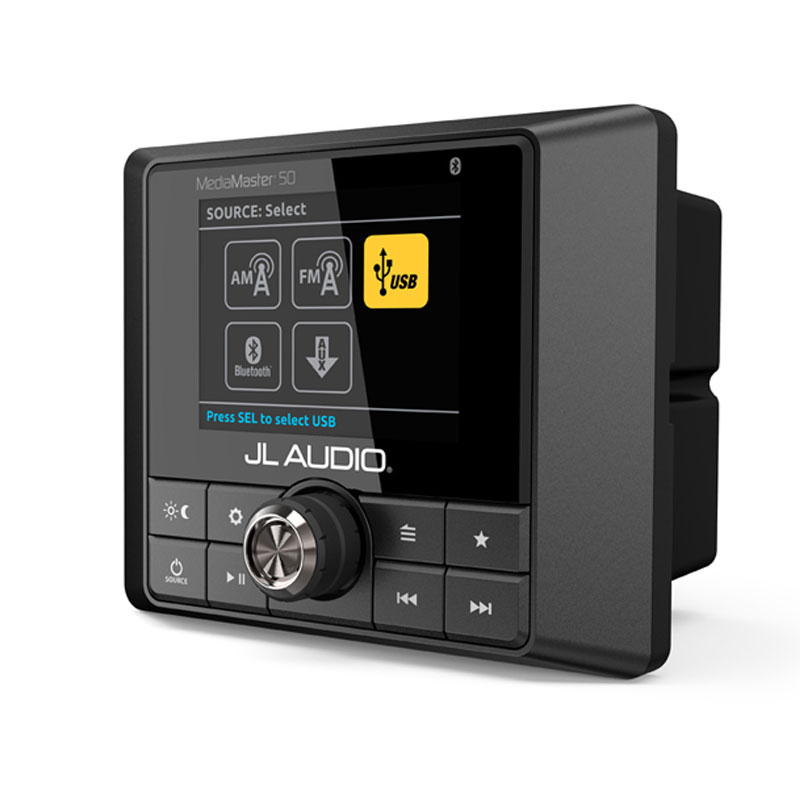 JL Audio MM50 Mediamaster 100W Bluetooth Media Player