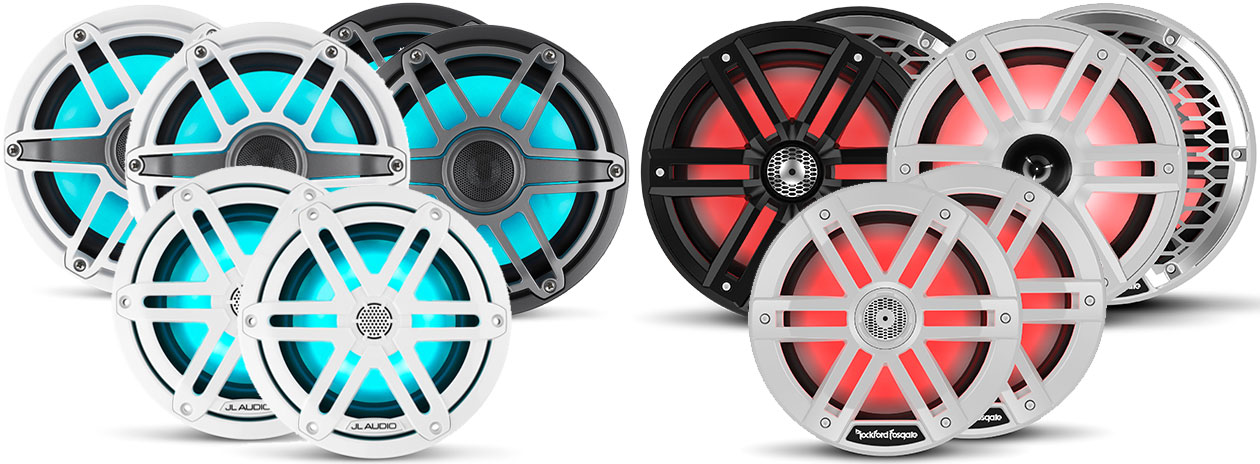 JL Audio vs. Rockford Fosgate Marine Speakers - Rockford Fosgate vs. JL  Audio Marine Speakers