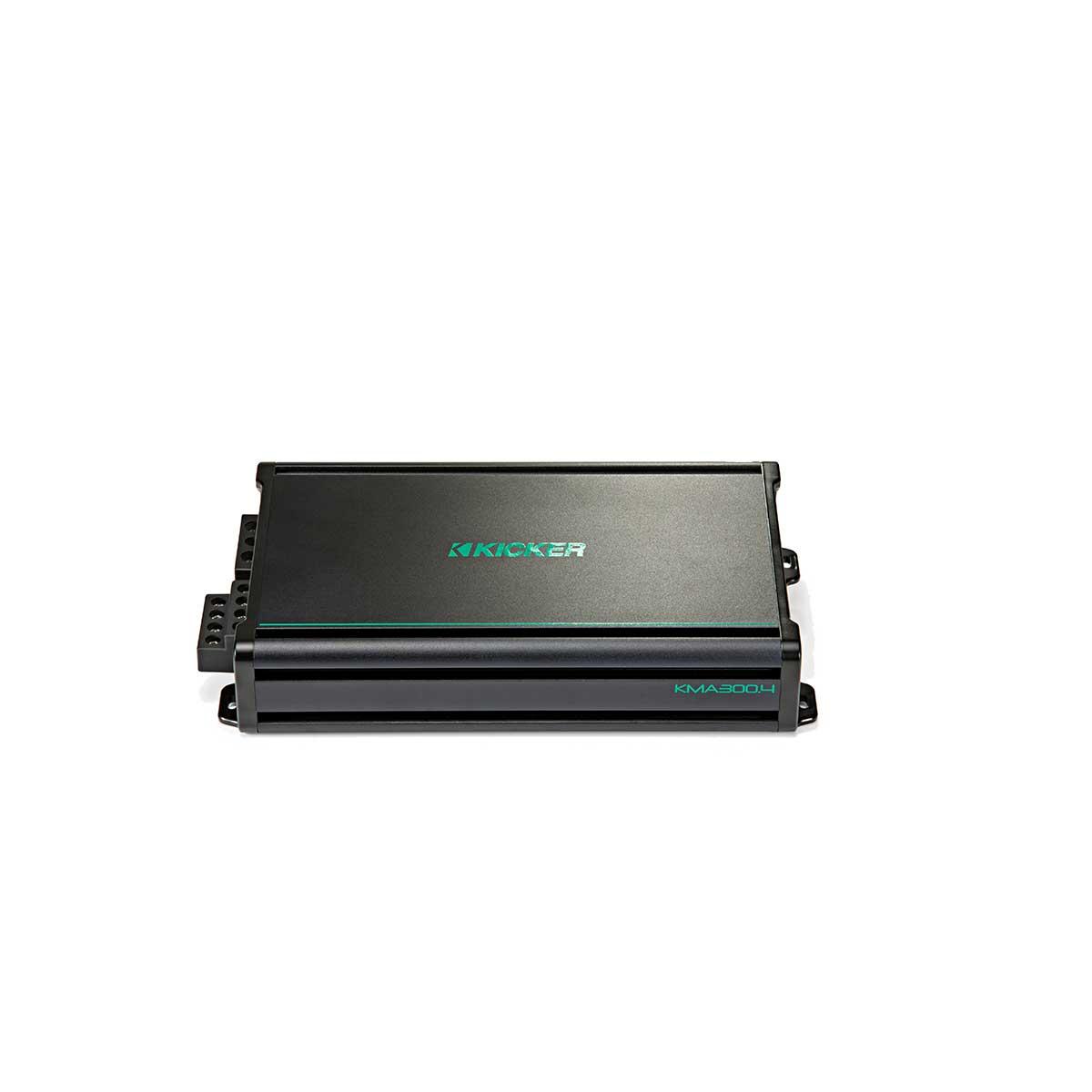 Kicker KMA300.4 300 Watt 4 Channel Marine Amplifier