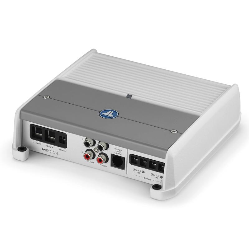 JL Audio M200/2 200 Watt 2 Channel Marine Amplifier