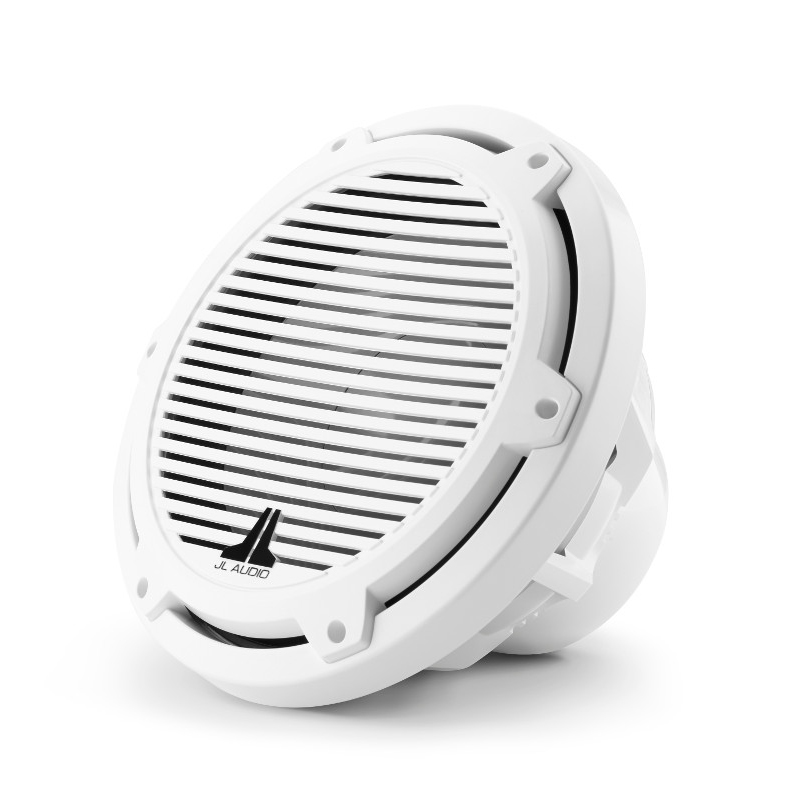 JL Audio M3 10 Inch Subwoofer for Infinite Baffle Gloss White Classic Grille