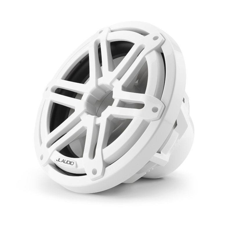 JL Audio M3 10 Inch Subwoofer for Infinite Baffle Gloss White Sport Grille