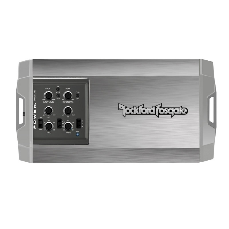 Rockford Fosgate TM400X4AD Power Mini 400 Watt 4 Channel Marine Amplifier